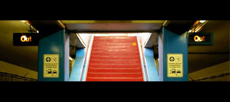 Photo of Red Stairs