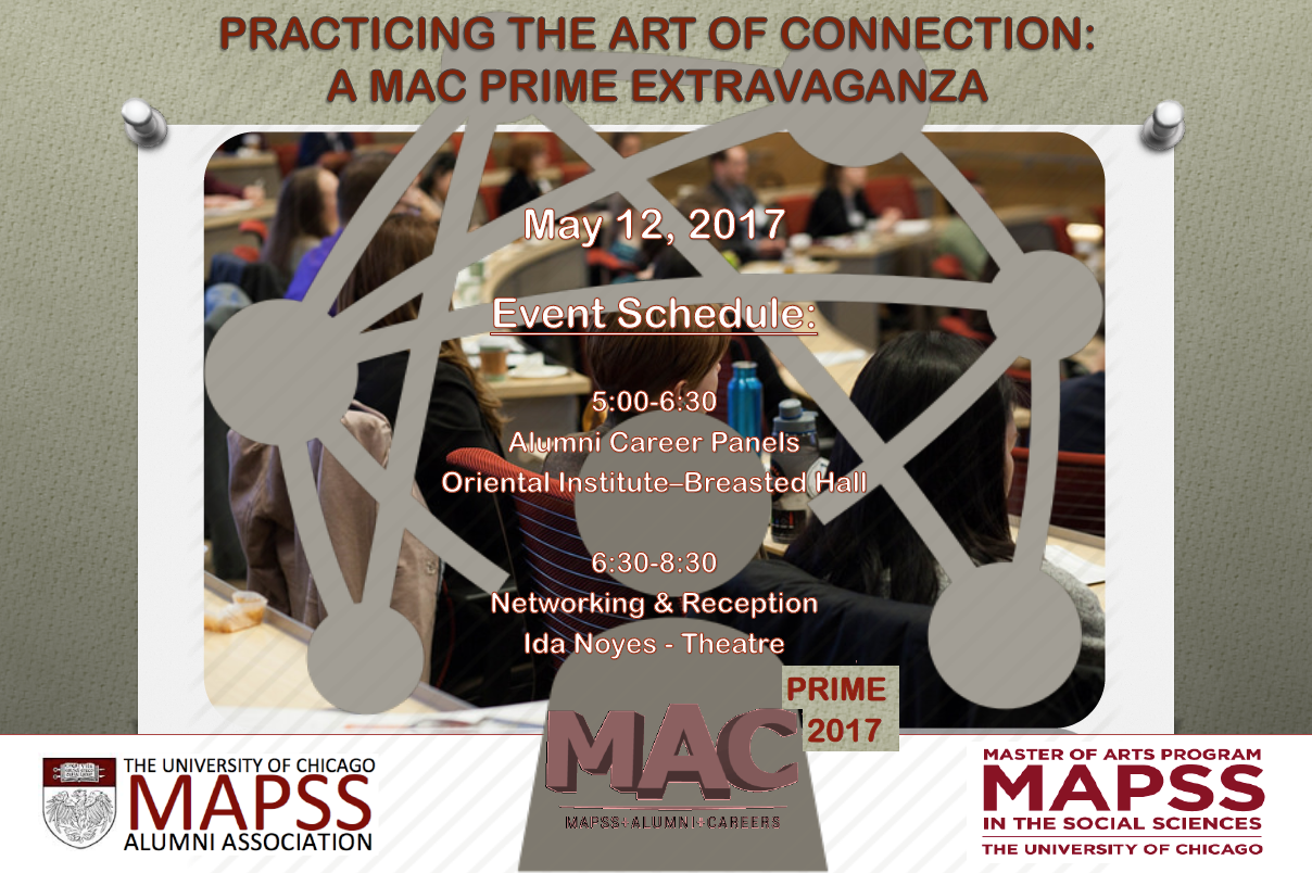 Practicing The Art Of Connection A MAPSS Alumni Career Prime - Chicago mapss